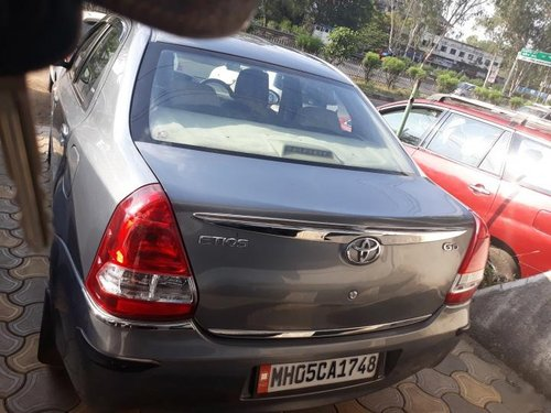 Good as new 2014 Toyota Platinum Etios for sale at low price
