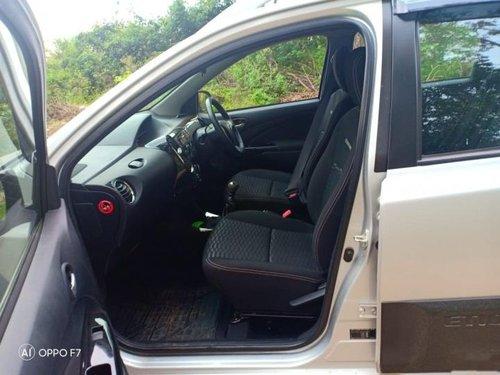 Used 2017 Toyota Etios Cross car at low price