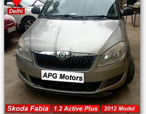Used Skoda Fabia 2010-2015 car at low price