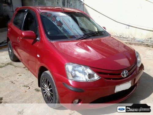 Good as new 2012 Toyota Etios Liva for sale