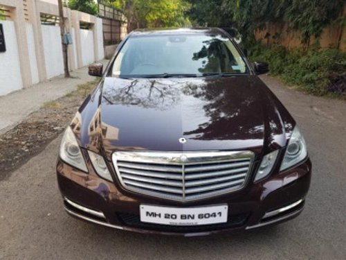 Used 2018 Mercedes Benz E Class car at low price