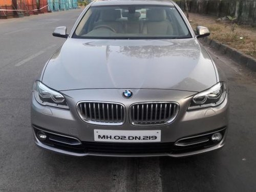 Used 2014 BMW 5 Series car at low price