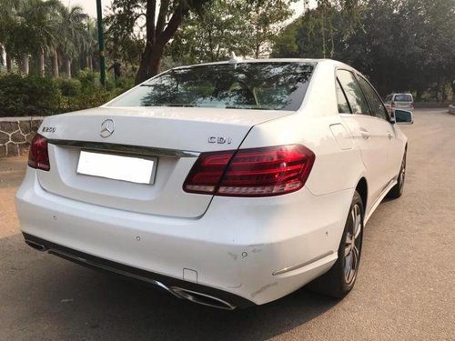 Used 2014 Mercedes Benz E Class car at low price