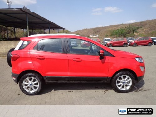 Used Ford EcoSport car 2018 for sale at low price