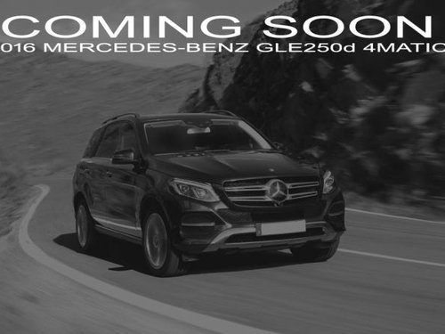 Used 2016 Mercedes Benz GLE for sale
