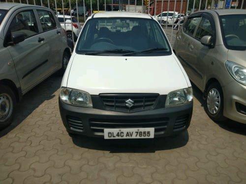 2012 Maruti Suzuki Alto White Petrol MT for sale in New Delhi