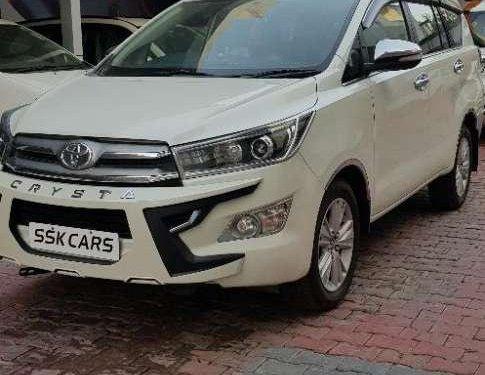 Used Toyota Innova Crysta 2016 MT car at low price