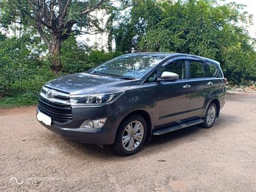 Used Toyota Innova Crysta 2.4 ZX MT 2017 for sale