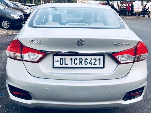 2016 Maruti Suzuki Ciaz ZDI DIesel MT for sale in New Delhi