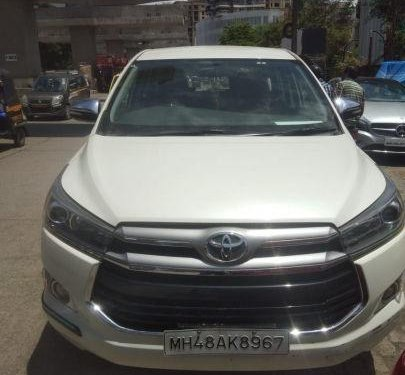 Used Toyota Innova Crysta 2.8 ZX AT car at low price