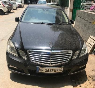 Used 2010 Mercedes Benz E Class MT for sale