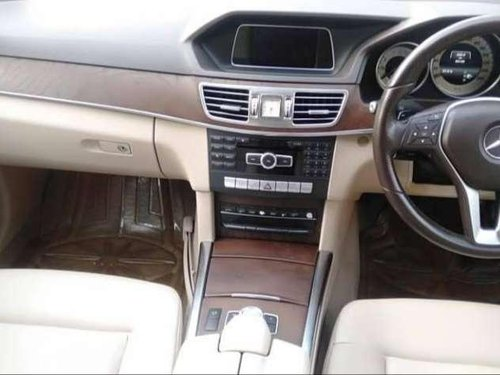 2014 Mercedes Benz E Class AT for sale