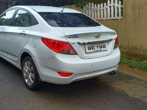 Used 2012 Verna 1.6 CRDi SX  for sale in Ponda
