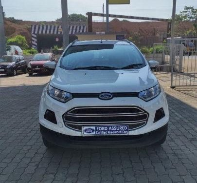 Used 2015 EcoSport 1.5 DV5 MT Trend  for sale in Mangalore