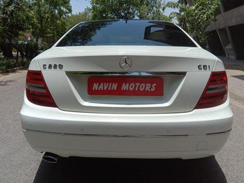 Used Mercedes Benz C-Class 220 MT car at low price