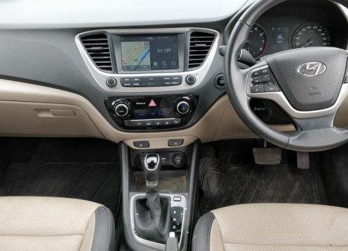 Used Hyundai Verna AT car at low price