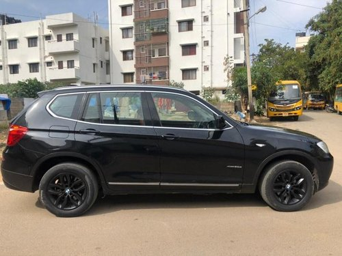 2013 BMW X3 xDrive20d AT for sale at low price in Bangalore
