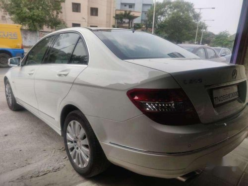 Mercedes-Benz C-Class 200 K Elegance Automatic, 2011, Petrol AT for sale in Chennai