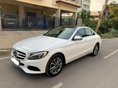 Used Mercedes Benz C-Class C 220 CDI BE Avantgare AT car at low price in Bangalore
