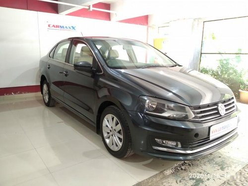 Volkswagen Vento 2015 1.5 TDI Highline AT For sale in Pune