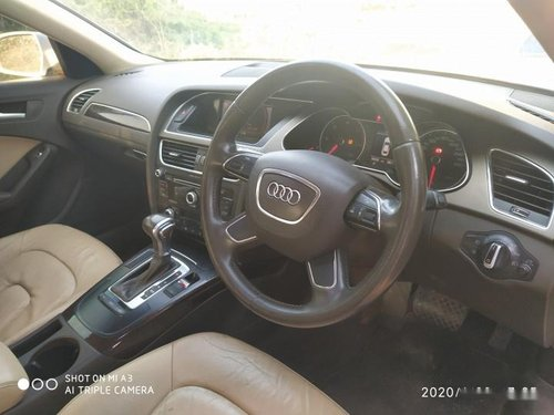 Used Audi A4 2.0 TDI Multitronic AT car at low price in Chennai