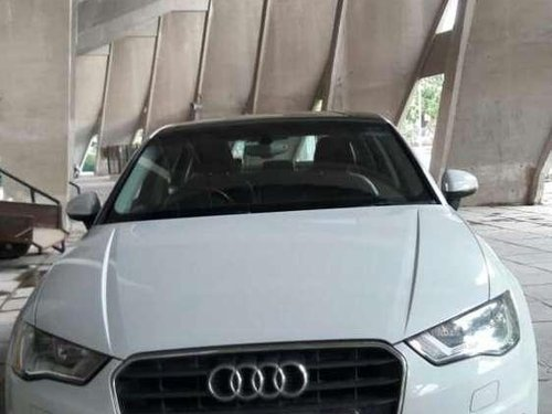 Used Audi A3 35 TDI Premium + Sunroof, 2015, Diesel AT for sale in Ahmedabad