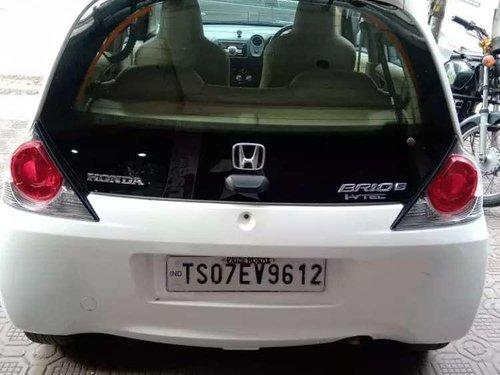 Used Honda Brio MT car at low price in Hyderabad