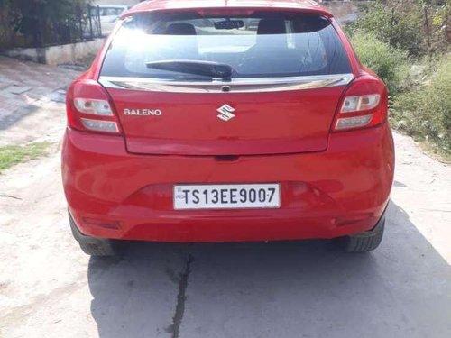 Used Maruti Suzuki Baleno Petrol 2016 MT for sale in Hyderabad