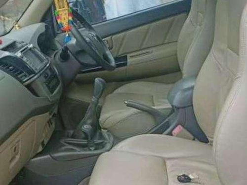 2012 Toyota Fortuner AT for sale at low price in Hyderabad