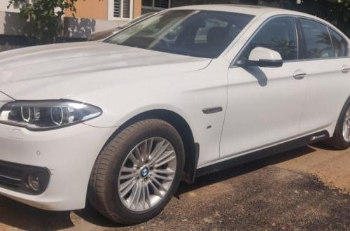Used 2017 BMW 5 Series Version 520d Luxury Line AT for sale in Bangalore