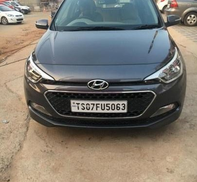 Used Hyundai Elite i20 MT car at low price in Hyderabad
