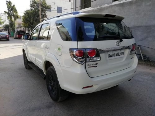 Used Toyota Fortuner 2.8 4WD AT 2015 in Bangalore