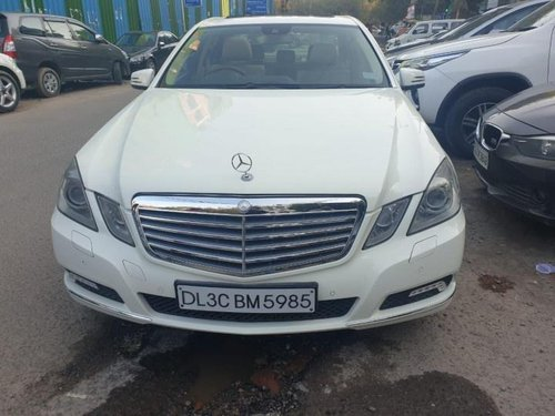 2010 Mercedes Benz E Class AT for sale at low price in New Delhi