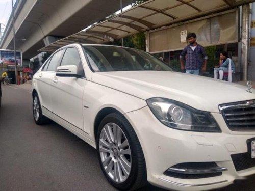 2012 Mercedes-Benz C-Class C 250 CDI Avantgarde AT for sale in New Delhi
