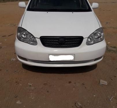 Used 2008 Toyota Corolla H1 MT car at low price in Hyderabad
