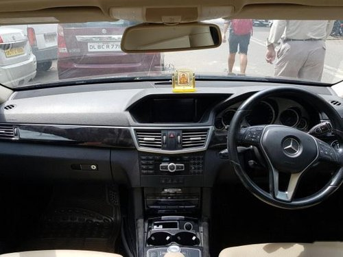 2013 Mercedes Benz E Class AT for sale at low price in New Delhi