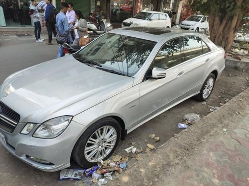 Used 2011 Mercedes Benz E Class AT car at low price in New Delhi