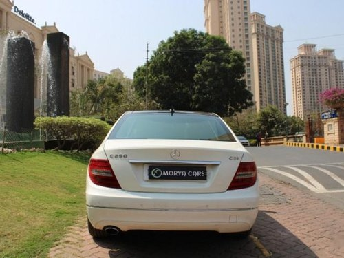 2012 Mercedes Benz C-Class C 250 CDI Avantgarde AT for sale at low price in Mumbai-8