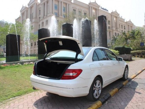 2012 Mercedes Benz C-Class C 250 CDI Avantgarde AT for sale at low price in Mumbai-2