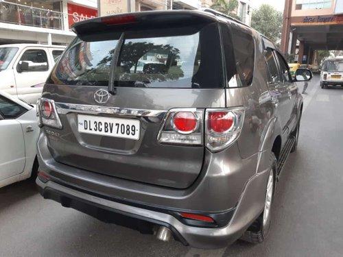 2012 Toyota Fortuner3.0 Diesel MT for sale in New Delhi