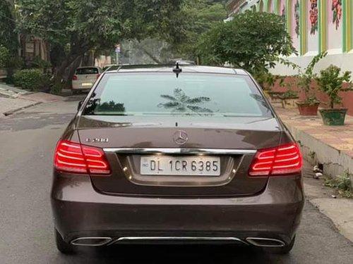 2016 Mercedes Benz E200 Petrol AT for sale in New Delhi