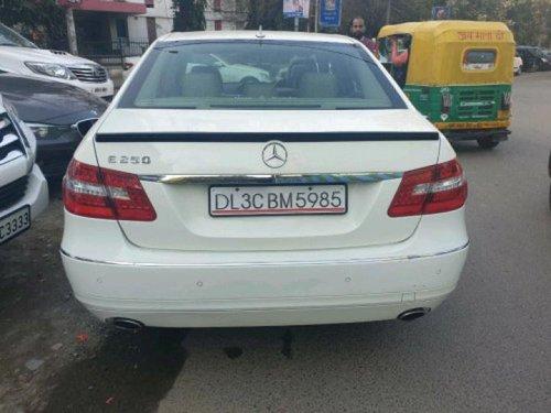 2010 Mercedes-Benz E-Class E250 Petrol MT in New Delhi