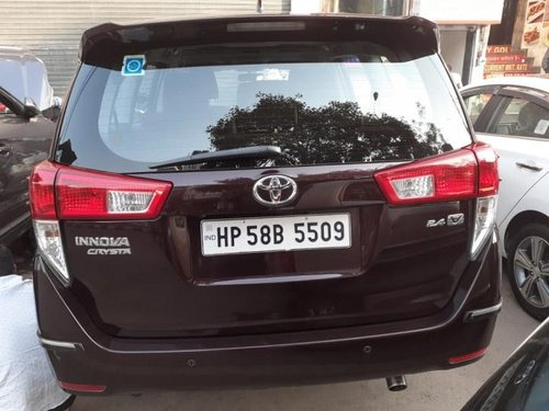 Used 2018 Toyota Innova Crysta 2.4 ZX MT in New Delhi