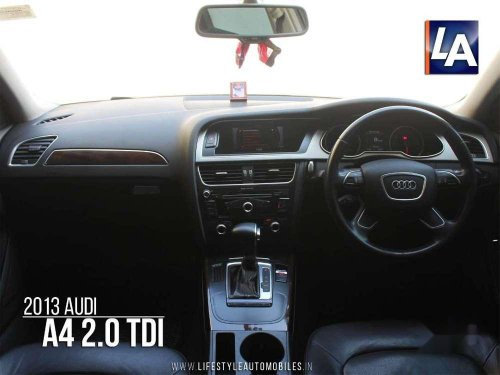 Used Audi A4 2.0 TDI 2013 AT for sale in Kolkata