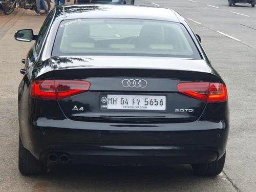 2013 Audi A4 2.0 TDI 177 Bhp Premium Plus AT for sale in Mumbai