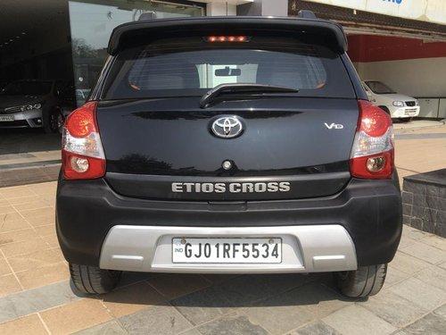 2014 Toyota Etios Cross 1.4 L VD Diesel for sale in Ahmedabad