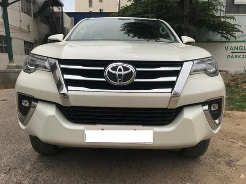 Used Toyota Fortuner 2018 AT for sale in Bangalore -8