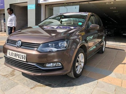 Volkswagen Polo 1.2 MPI Highline 2016 MT for sale in Ahmedabad