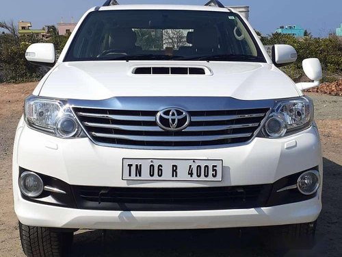 Used Toyota Fortuner, 2016, Diesel MT for sale in Chennai