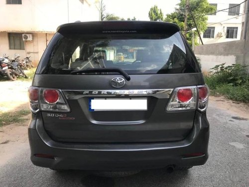 Toyota Fortuner 2.8 4WD 2012 AT for sale in Bangalore